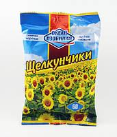 """Семечки жареные """"Щелкунчик"""" 60 г. (50 шт. в ящике)"""