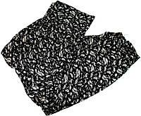 Капри летние c карманами, широким поясом и манжетами размер №4