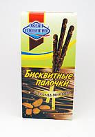 Бисквитные палочки в белом шоколаде и чернике 32 г. (50 шт. в пачке)