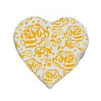 """Шары из фольги """"Золотые розы"""" сердце 18 дюймов ( 45 см), 1 штука"""