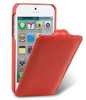 Чехол флип iPhone SE 5 5S Melkco jacka красный кожаный оригинал