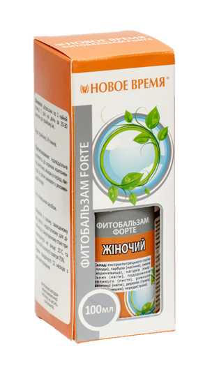 """Фитобальзам """"Женский"""" (ФОРТЕ) Новое время, 100 мл"""