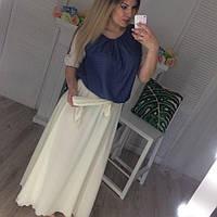 Джинсовое платье Макси Батал 0046 ИИ, фото 1