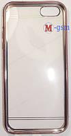 Силиконовый чехол для телефона iPhone 5, 5S, SE pink