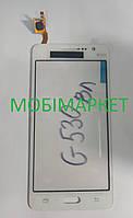 Тачскрін (сенсор) Samsung G530F Galaxy Grand Prime LTE, G530H Galaxy Grand Prime original білий