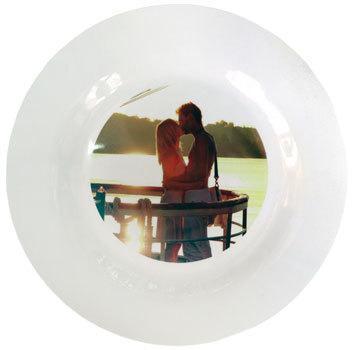Полимерная тарелка с Вашим дизайном, D - 23 см