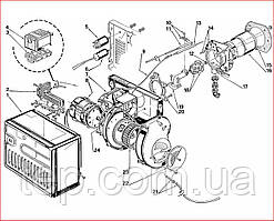Запасні частини до пальника Riello 40 FS 3