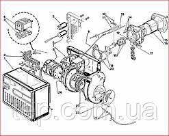 Запасные части к горелке Riello 40 FS 3