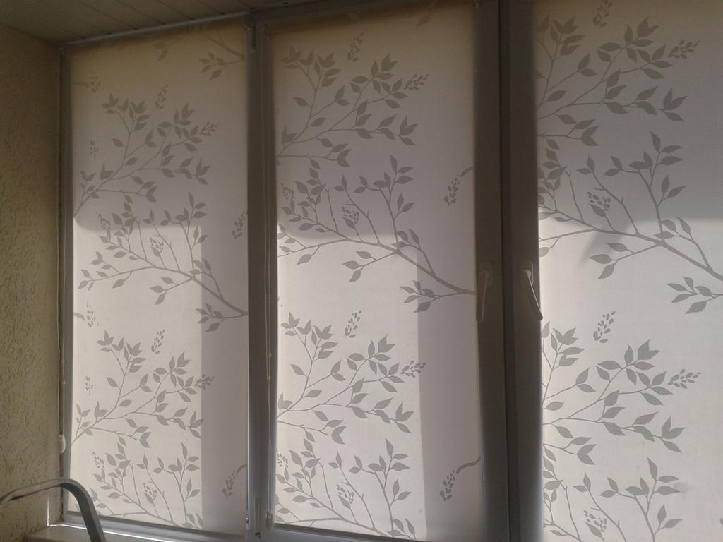 Рулонные шторы Park. Тканевые ролеты Парк  1