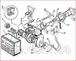 Запасные части к горелке Riello 40 FS 5
