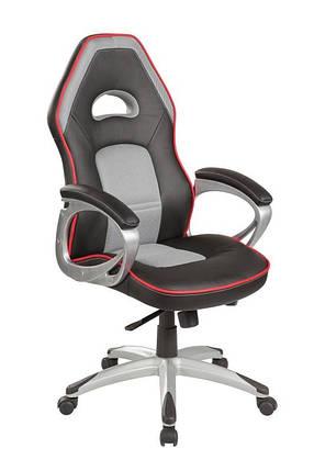 Кресло офисное Q-055 ( черно серый) (Signal), фото 2
