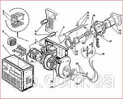 Запасные части к горелке Riello 40 FS 8