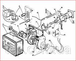 Запасные части к горелке Riello 40 FS 20
