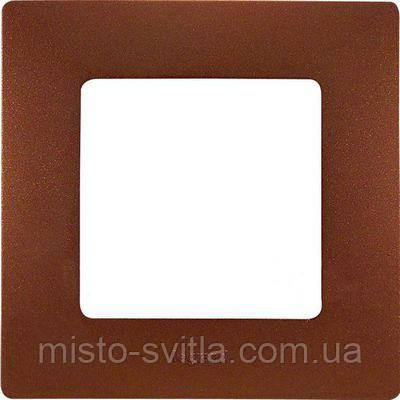 Рамка 1-постовая, какао, Legrand Etika Легранд Этика
