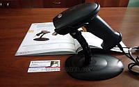 Бюджетный лазерный сканер штрих-кодов XL-6200A USB с подставкой для автоматического сканирования