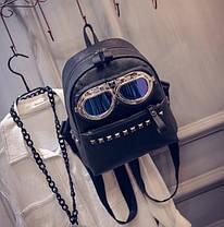 Оригинальный рюкзак пилот с очками, фото 3