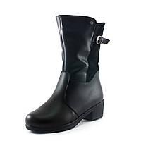 Ботинки зимние женские SND SDZ 41951-2-35-Б черные