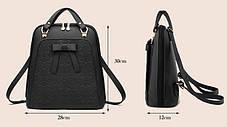 Шикарний місткий рюкзак, сумка, фото 3