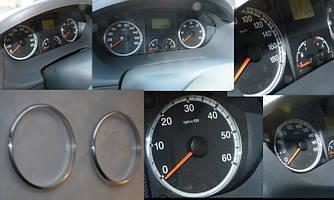 Кольца рамки на приборы Fiat Ducato