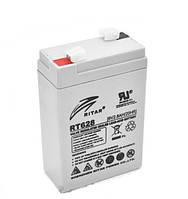 Свинцово-кислотная аккумуляторная батарея AGM RITAR RT628, 6V 2.8Ah  (66х33х104 мм) Q20