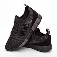 Мужские кроссовки черные (Код: DRM-301)