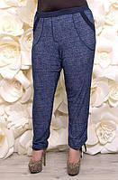 Батальные женские брюки Джинс  ТМ Ирмана 50-64 размеры