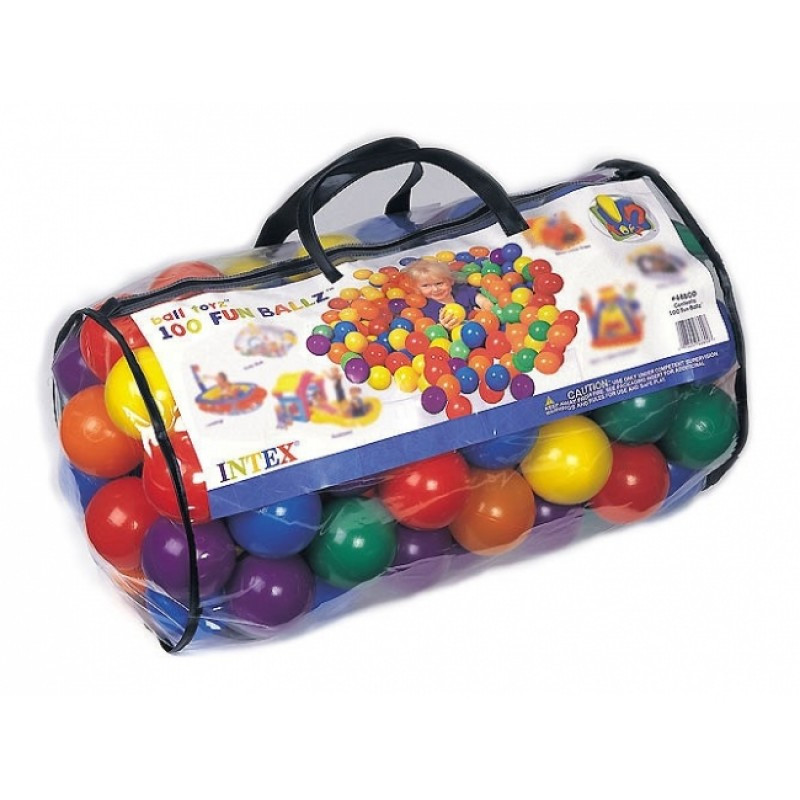 Мячики для сухого бассейна Intex 100шт. 49600