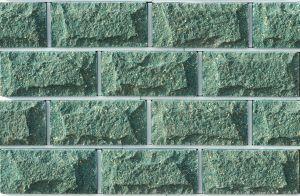 Плитка цокольная LAND BRICK зеленая 250х22х120 мм