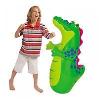"""Детская надувная игрушка - неваляшка  Intex, 44669 """"Животные"""" (91 см)"""