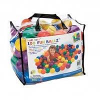 Шарики (мячики) для сухого бассейна Intex 49600, 8 см (100 шт)