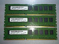 Память DDR3 2GB 1333MHz Micron 1Rx8 PC3-10600E-9-10-D0 MT9JSF25672AZ-1G4D1ZE