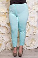 Летние легкие укороченные брюки 169754 ТМ Ирмана 52-60 размеры