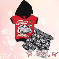 Костюм с камуфляжными шортами для мальчика от 1 до 4 лет (5361-2)