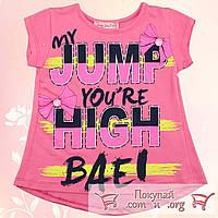 Летние футболки для девочек от 2 до 5 лет (5364-1)