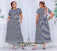 Женское летнее платье батал новинка 2017