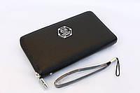 Мужской кошелек из натуральной кожи портмоне Philipp Plein