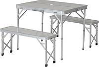 Набор мебели аллюминиевый для пикника (стол и стулья)