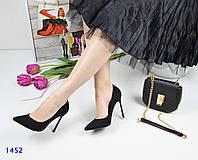 Туфли-лодочки женские черные
