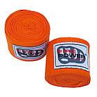 Бинты боксерские эластичные Firepower FPHW3 Оранжевые, фото 2