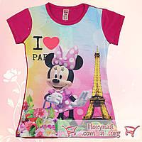 Туника для девочек Микки в Париже от 5 до 8 лет (5376-2)