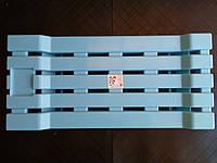 Пластиковое сиденье для ванны Консенсус, голубое