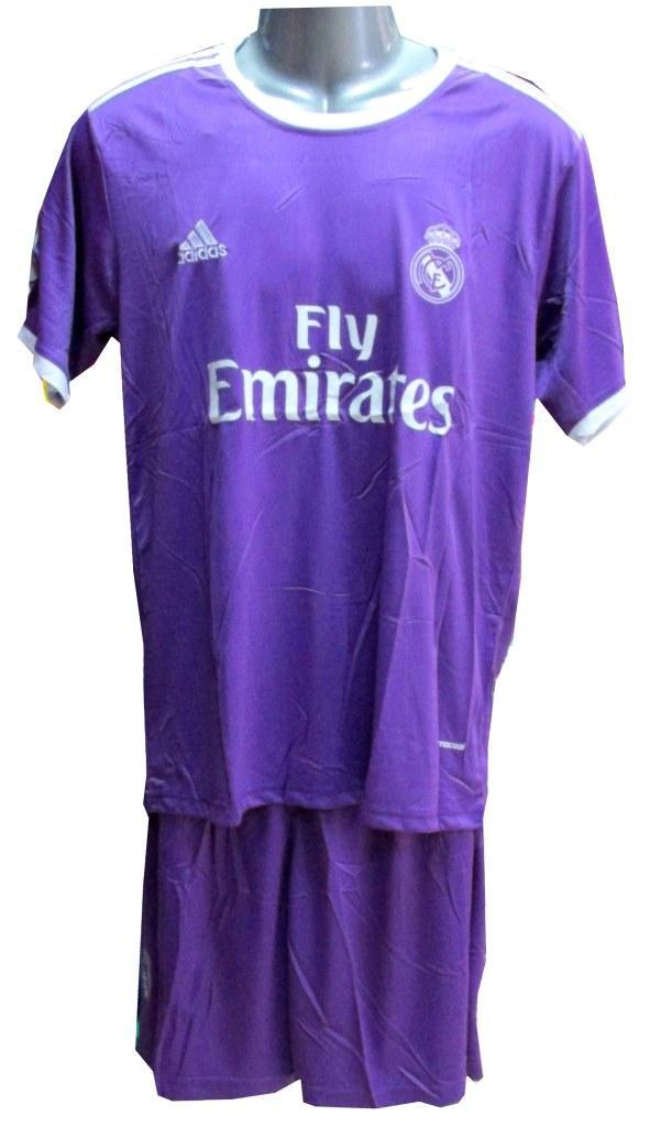 Форма ФК Реал Мадрид фиолетовая 2017