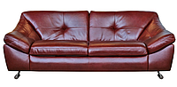 """Стильный кожаный диван """"Nebraska"""" (Небраска) Двухместный (193 см), Не раскладной, натуральная кожа"""