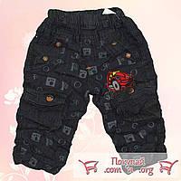 Брюки джинсовые жатка Размеры:2-3-4 года При желании легко отпариваются (5382)