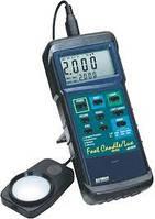 Люксметр Extech 407026, измеритель освещенности для работы в тяжелых условиях, с ПК интерфейсом
