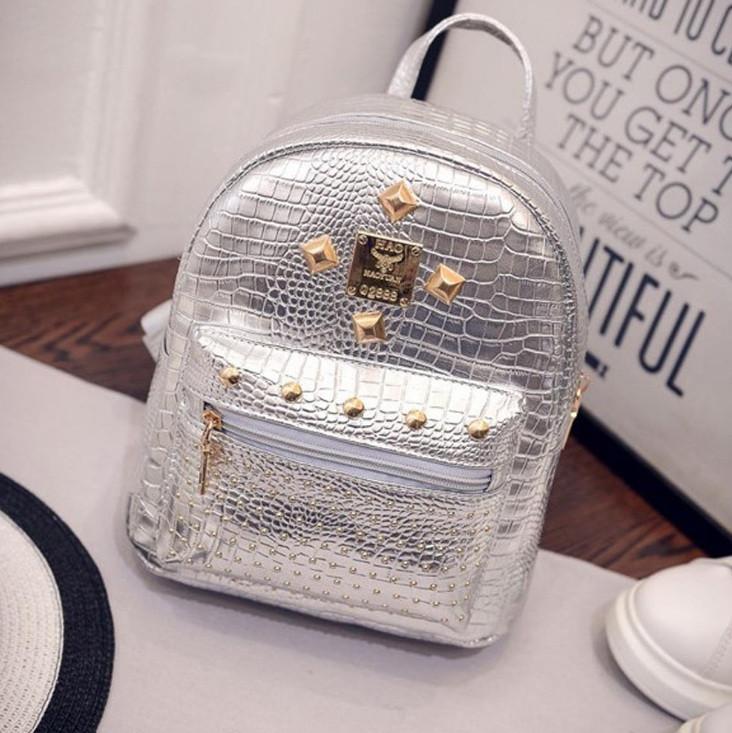 d6ab2a2b972b Блестящий женский рюкзак маленький, цена 259 грн., купить в Днепре ...
