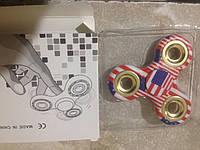 Fidget Spinner игрушка Антисресс Американский флаг (Хенд Спиннер)