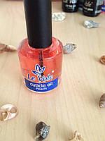Масло для кутикулы Le Vole с экстрактом персика, 15 мл