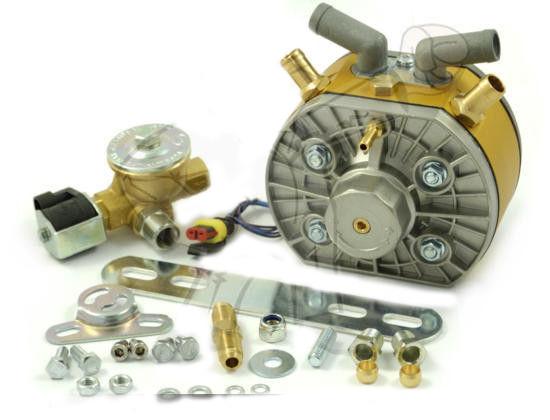 Газовый редуктор KME Gold 325 л.с. с ЭМК газа OMB