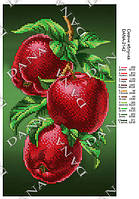 """Схема для полной вышивки бисером """"Вкусные яблоки"""""""